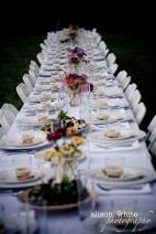 farm dinner on the table
